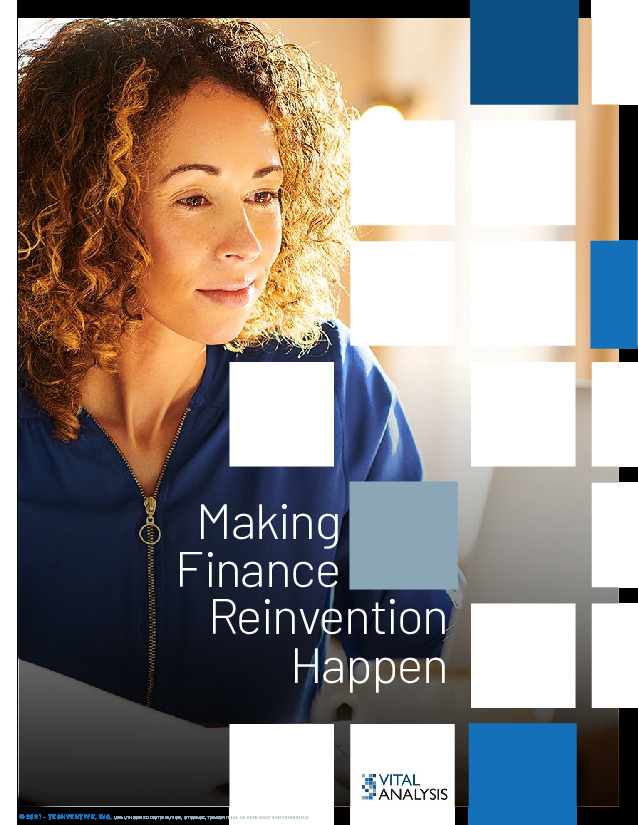 Making Finance Reinvention Happen
