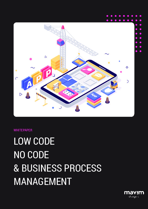 Low Code No Code and Business Process Management