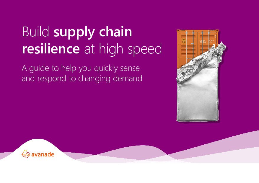Build Supply Chain Resilience at High Speed