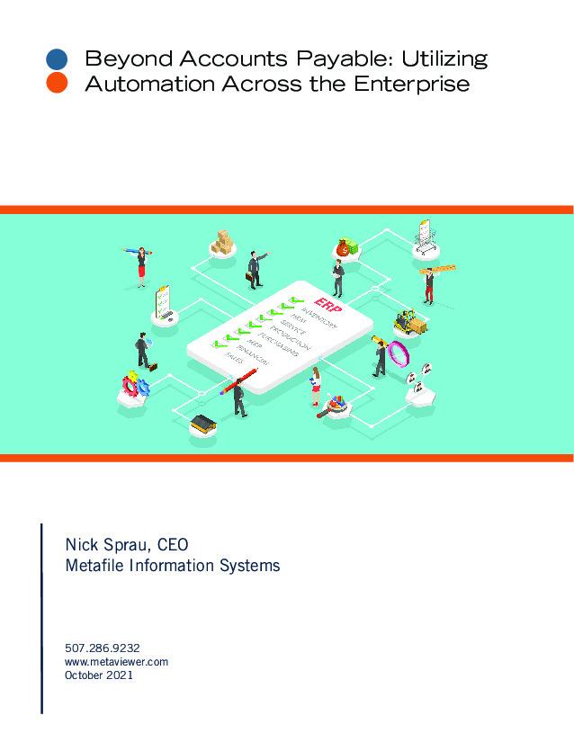 Beyond Accounts Payable: Utilizing Automation Across the Enterprise
