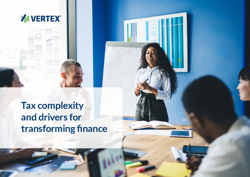 Tax Complexity and the Drivers for Transforming Finance