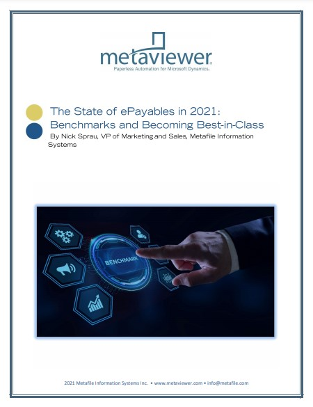 The State of ePayables in 2021: Benchmarks and Becoming Best-in-Class
