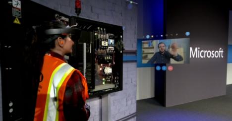 HoloLens, Dynamics 365 integration demonstration