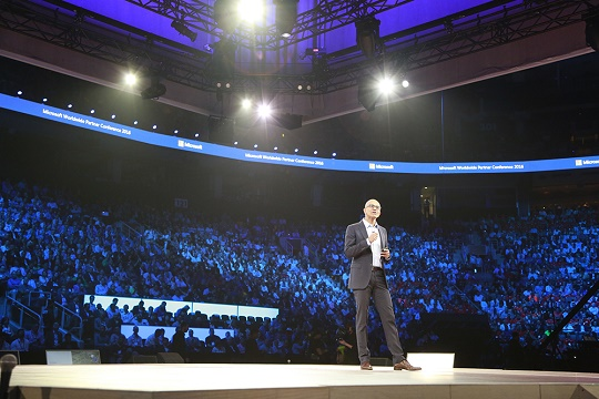 Satya Nadella at WPC 2016