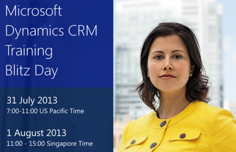 Microsoft Dynamics CRM 2013 Training Blitz
