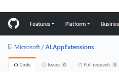 GitHub ALAppExtensions