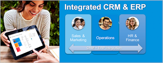 Integrated CRM & ERP
