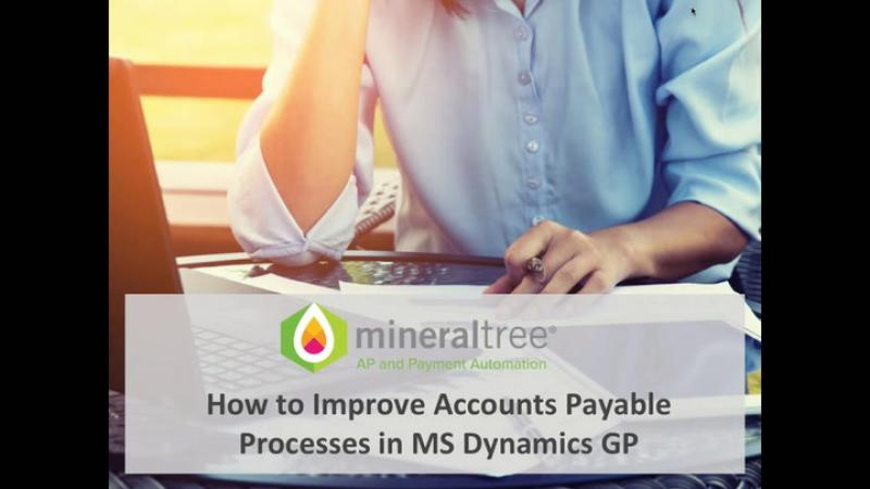 How to Improve Accounts Payable in Dynamics GP