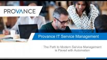 The Path to Modern Service Management is Paved with Automation