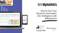 How to Turn Your Dynamics Information into Intelligence with BI4Dynamics