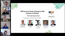 Panel Discussion: Getting to CRM Success in 30 days