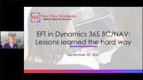 EFT in Microsoft Dynamics 365 Business Central & NAV: Lessons learned the hard way