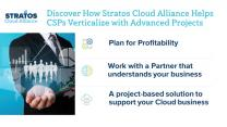 Discover how Stratos Cloud Alliance helps CSPs Verticalize with Advanced Projects