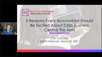5 Reasons Every Accountant Should Be Excited About Dynamics 365 Business Central This April