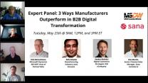 Panel Discussion: Exploring New e-Commerce Trends for Manufacturers