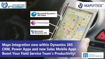 Dynamics 365 CRM Maps Integration on Mobile - Dynamics 365 CRM / Dataverse location data on fingertips for your Sales Reps