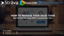 Sales Manager Training & Best Practices for CRM