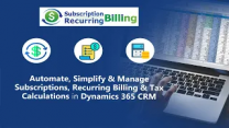 Subscriptions and Recurring Billing Made Easy for Dynamics 365 CRM