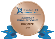 2015 Winner – Brandon Hall Excellence: Best-Advances in Talent Management Technology for Small & Medium Sized Businesses
