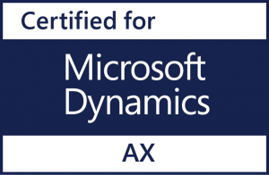 Certified for Microsoft Dynamics AX