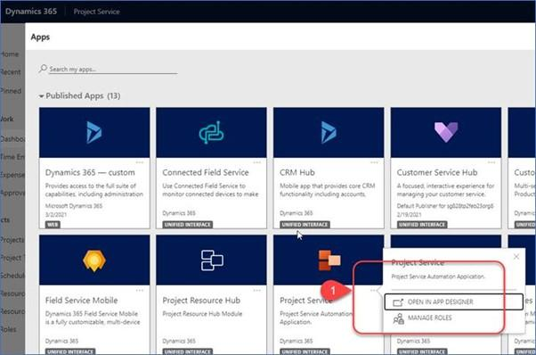 Dynamics 365 Project Operations schedule board