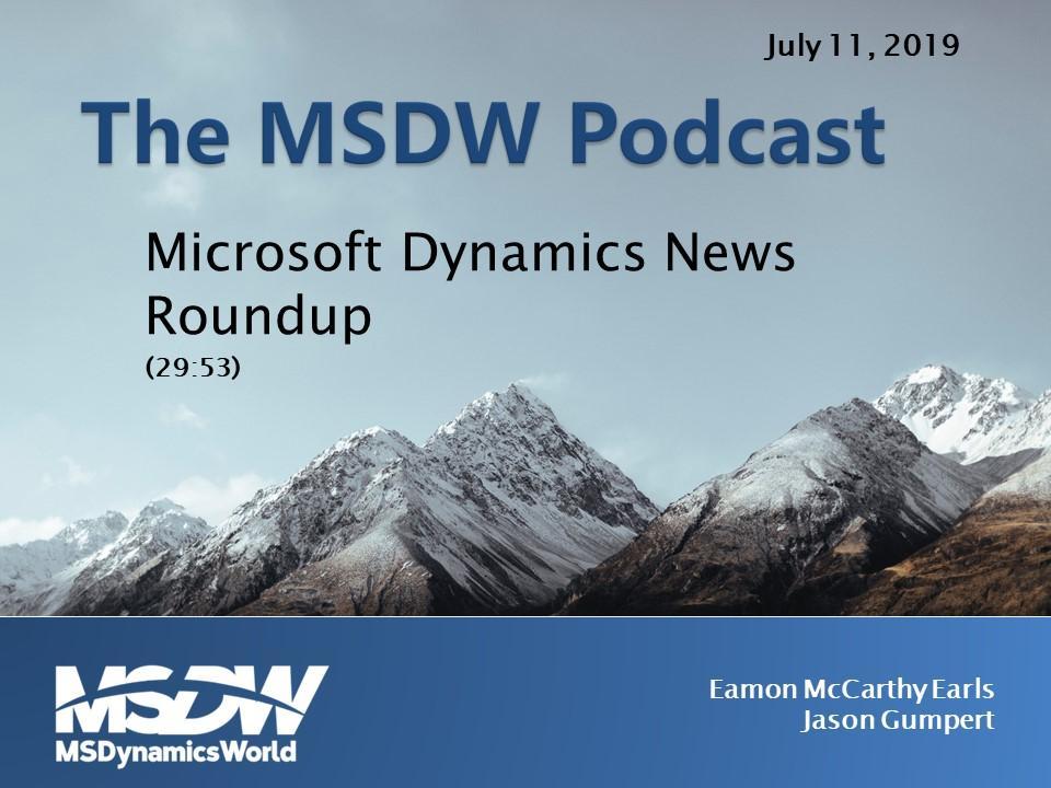 MSDW Podcast