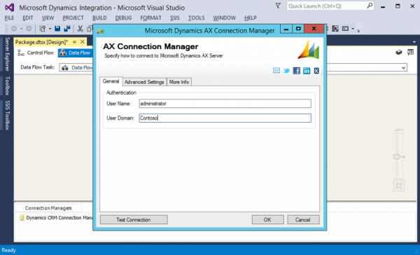 SSIS Integration Toolkit for Microsoft Dynamics AX