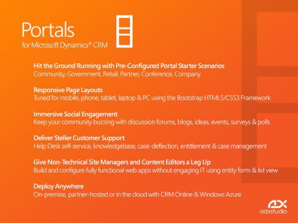 Adxstudio Portals | MSDynamicsWorld com