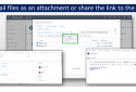 Email Links or Attachments