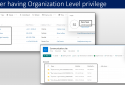 Sync Organization level privilege
